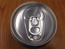 水装盒盖于罐中 库存照片