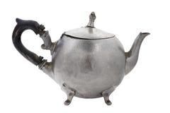 老罐子茶壶。 免版税库存图片