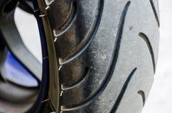 装胎大自行车-特写镜头后轮Bigbike 库存图片