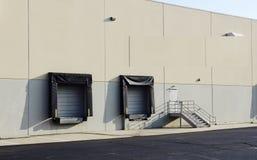 装货场在分配中心 免版税库存照片