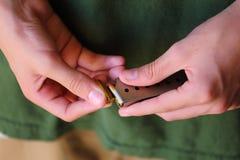 装载枪 免版税库存照片