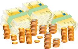 装载货币 免版税库存图片