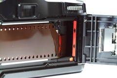 装载B的照相机影片 免版税库存图片