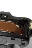 装载C的照相机影片 图库摄影