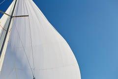 装配相称大三角帆 免版税库存图片