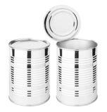装食物于罐中 免版税图库摄影