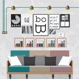 装饰一个客厅 免版税图库摄影