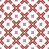 装饰东方红色皇家葡萄酒阿拉伯中国花卉无缝的抽象样式纹理墙纸 库存例证