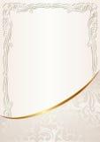 乳脂状的背景 库存图片