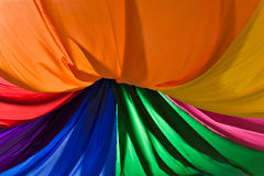 装饰五颜六色的材料 免版税库存图片