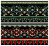 装饰五颜六色的边界 免版税库存照片
