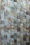 装饰从正方形分开您的d的石砖墙纹理 库存照片