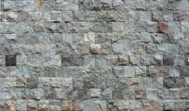 装饰从正方形分开您的d的石砖墙纹理 免版税图库摄影