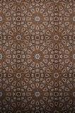 装饰伊斯兰教的木艺术 免版税库存图片
