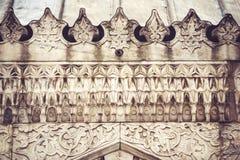 装饰伊斯兰教的艺术纹理背景 免版税库存图片