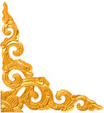 装饰传统泰国样式的模式 免版税库存照片