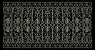 装饰元素背景,葡萄酒金子花卉设计 库存照片