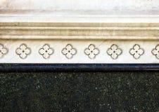 装饰元素,大理石,佛罗伦萨,意大利, 16世纪 库存照片