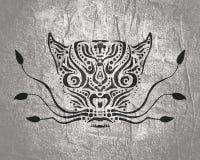 装饰动物纹身花刺 免版税图库摄影