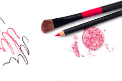 装饰化妆用品 图库摄影