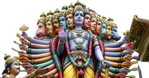 装饰印度寺庙 免版税库存图片