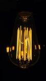 装饰古色古香的爱迪生样式电灯泡 库存图片
