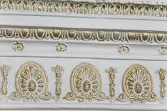 装饰品植物生长的墙壁 免版税库存图片