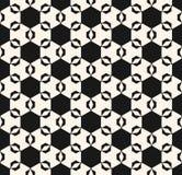 装饰品模式无缝的向量 典雅的六角纹理 免版税图库摄影