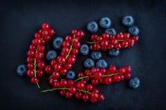 装饰品用新鲜的莓果 免版税库存照片