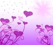 装饰品紫色 库存照片