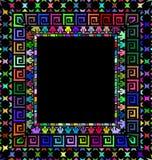 装饰品颜色框架 免版税库存照片