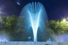 装饰喷泉 免版税库存图片