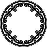 装饰圆的凯尔特样式 向量例证