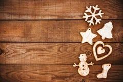 装饰土气的圣诞节 免版税库存图片