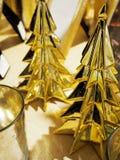 装饰圣诞树小雕象 图库摄影