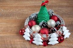 装饰圣诞节和新年 免版税图库摄影