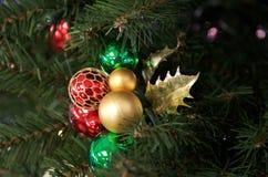 装饰圣诞节花束 库存图片