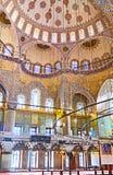 装饰在清真寺 免版税库存照片