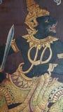 装饰在盛大宫殿,曼谷,泰国 图库摄影