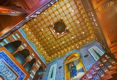 装饰在Manial宫殿,开罗,埃及 库存照片
