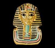 装饰埃及雕象 免版税库存照片