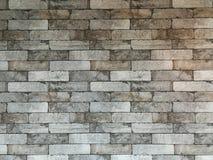 装饰墙壁有纸老砖样式背景 免版税库存图片
