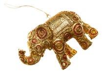 装饰大象 免版税库存图片