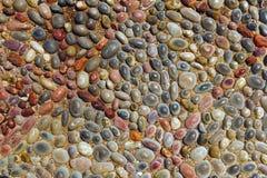 装饰小卵石背景 图库摄影