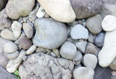 装饰小卵石 库存图片