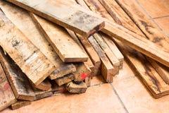 装饰工作的木头 库存图片