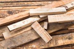 装饰工作的木头 库存照片