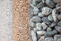 装饰庭院装饰物石头 免版税库存照片