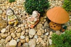 装饰庭院 库存照片