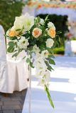 装饰开花婚礼 库存照片